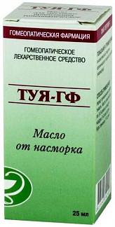 Туя-гф 25мл масло для наружного применения