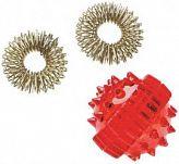 Массажер су-джок (2 кольца+шар)