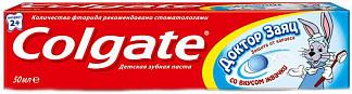 Колгейт доктор заяц зубная паста жвачка 50мл