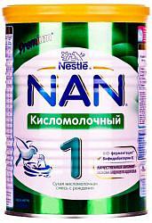 Нестле нан кисломолочный 1 смесь молочная 400г