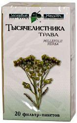 Тысячелистник трава 20 шт. фильтр-пакет здоровье