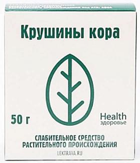 Крушина кора 50г здоровье