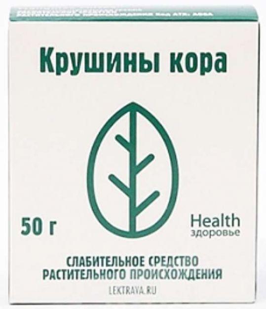 Крушина кора 50г здоровье, фото №1