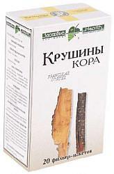 Крушина кора 1,5г 20 шт. фильтр-пакет здоровье