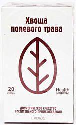 Хвощ полевой трава 20 шт. фильтр-пакет здоровье