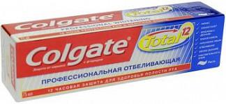Колгейт тотал 12 зубная паста про-отбеливание 75мл