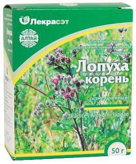 Лопух корень дары природы чайный напиток 50г