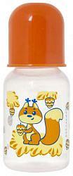 Курносики бутылочка полипропиленовая с латексной соской арт.11146 125мл