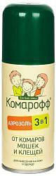 Комарофф аэрозоль 3 в 1 100мл