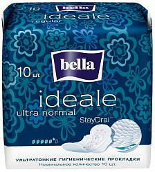 Белла идеале ультра прокладки супертонкие нормал 10 шт.
