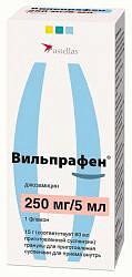 Вильпрафен 250мг/5мл 15г гранулы для приготовления суспензии для приема внутрь