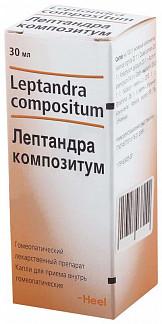 Лептандра композитум 30мл капли для приема внутрь biologische heilmittel heel gmbh