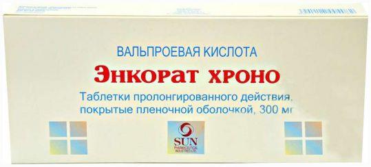 Энкорат хроно 300мг 30 шт. таблетки, фото №1