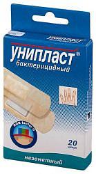 Унипласт пластырь бактерицидный незаметный 20 шт.