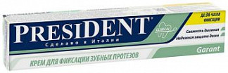 Президент гарант крем для фиксации зубных протезов 50г