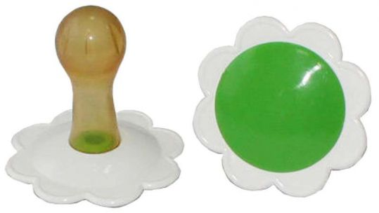 Соска-пустышка латексная ромашка, фото №1