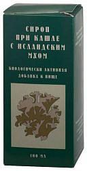 Сироп от кашля с исландским мхом