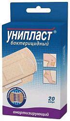Унипласт пластырь бактерицидный амортизирующий 20 шт.