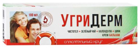 Спасательный круг крем-бальзам угридерм 100г, фото №1