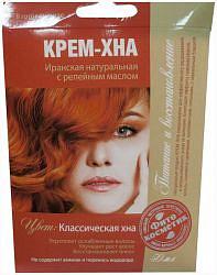 Фитокосметик крем-хна классическая хна с репейным маслом 50мл