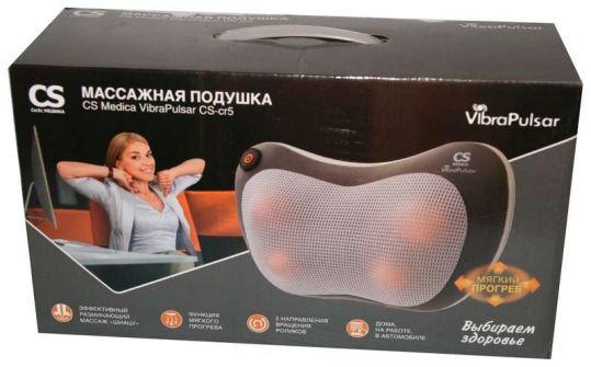Сиэс медика подушка массажная вибрапульсар cs-cr5, фото №1