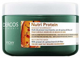 Виши деркос нутриентс маска для волос восстанавливающая нутри протеин 250мл