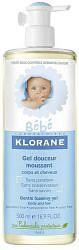 Клоран бебе гель мягкий пенящийся для волос и тела с экстрактом календулы 500мл