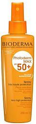 Биодерма фотодерм max спрей spf50+ 200мл