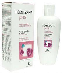 Биорга фемилин гель для интимной гигиены успокаивающий ph8 200мл