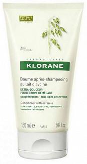 Клоран бальзам для волос смягчающий с молочком овса 150мл