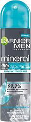 Гарнье минерал мен дезодорант-спрей эффект чистоты антибактериальный 150мл сопрокс