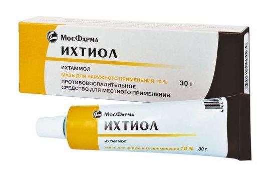 Ихтиол 10% 30г мазь для наружного применения, фото №1