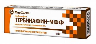 Тербинафин-мфф 1% 15г мазь