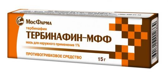 Тербинафин-мфф 1% 15г мазь, фото №1