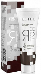 Эстель ятон маска для волос тонирующая 6/7 шоколадный 60мл