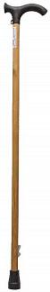 Аверсус трость деревянная с пластмассовой ручкой и с упс арт.529