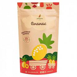 Зеленика фруктовый здоровый перекус ананас 20г