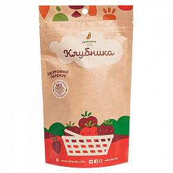 Зеленика фруктовый здоровый перекус клубника 20г