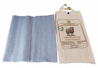 Альмед пояс эластичный согревающий с шерстью овцы разъемный размер 2/s (68-75см)