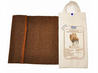 Альмед пояс эластичный согревающий с шерстью верблюда разъемный размер 2/s (68-75см)