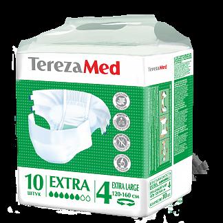 Терезамед подгузники для взрослых нормал экстра ладж размер 4 10 шт.