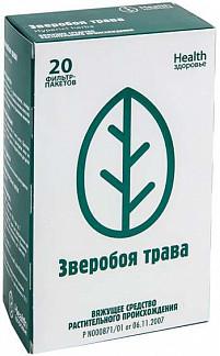 Зверобой трава 1,5г 20 шт. фильтр-пакет здоровье