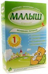 Малыш истринский 1 смесь молочная 0-6 месяцев 350г