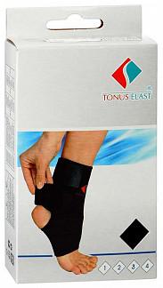 Тонус эласт повязка для фиксации голеностопного сустава неопреновая с застежкой арт.0310 №3