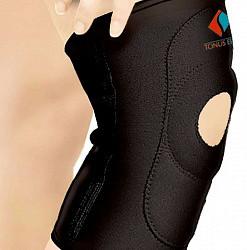 Тонус эласт повязка эластичная из неопрена для фиксации коленного сустава с открытой чашечкой арт.9903 размер 5