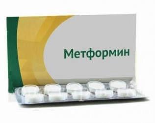 Метформин лонг 500мг 30 шт. таблетки с пролонгированным высвобождением