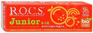 Рокс джуниор зубная паста фруктовая радуга 74г