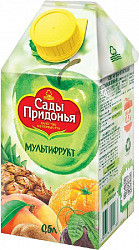 Сады придонья сок мультифрукт 500мл