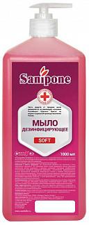 Санипон-soft мыло жидкое дезинфицирующее (кожный антисептик) роза 250мл