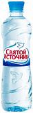 Святой источник вода питьевая без газа пэт 0,5л